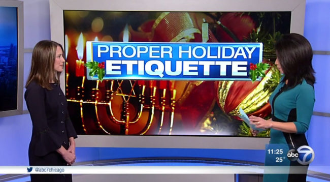Holiday Etiquette